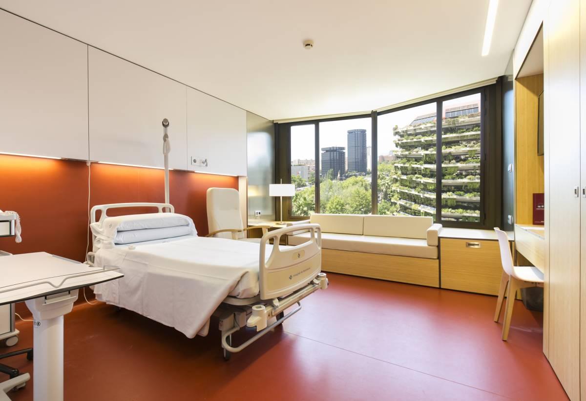 El Área Materno-infantil del Hospital de Barcelona desde dentro.