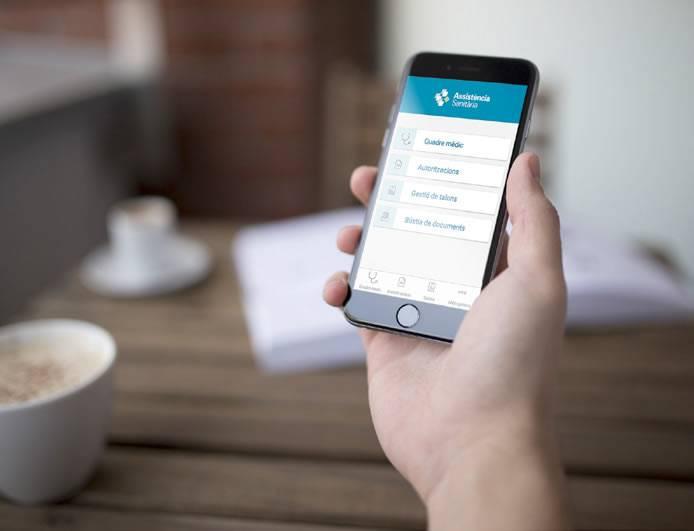 La nova app d'Assistència, l'oficina a la teva butxaca