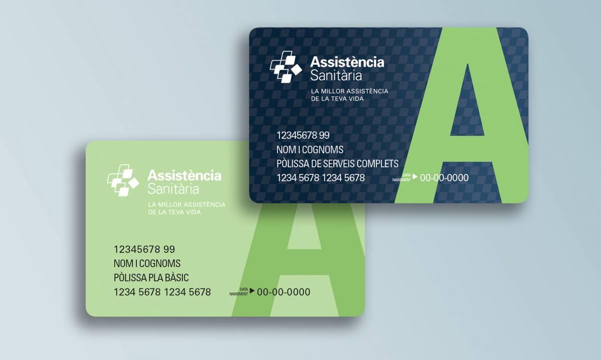 Nova targeta per a la població assegurada d'Assistència Sanitària