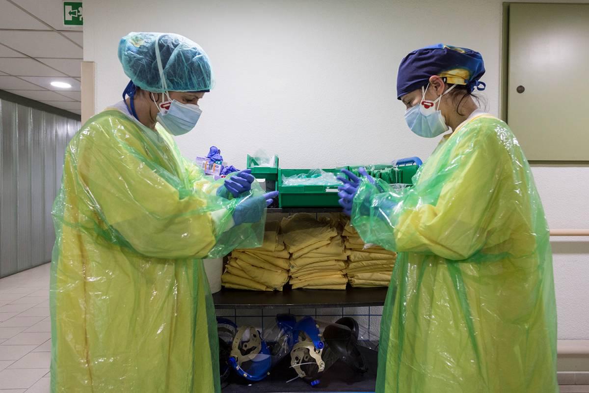 Assistència Sanitària es bolca en la gestió de la COVID-19